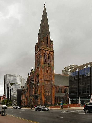 St. Columba's Church in St. Vincent Street, Glasgow