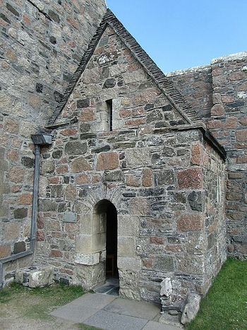 St. Columba's Shrine Chapel at Iona Abbey (photo from Pinterest.com)