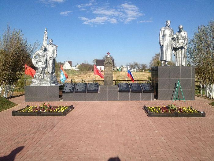 Мемориал в деревне Смолино