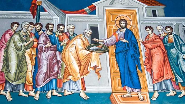 Христос является ученикам после Воскресения
