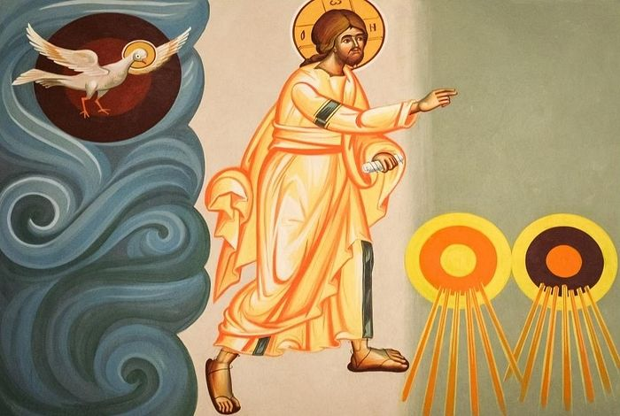 Дух Божий носился над водою