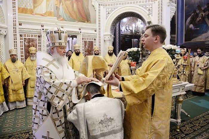 Рукоположение в священники
