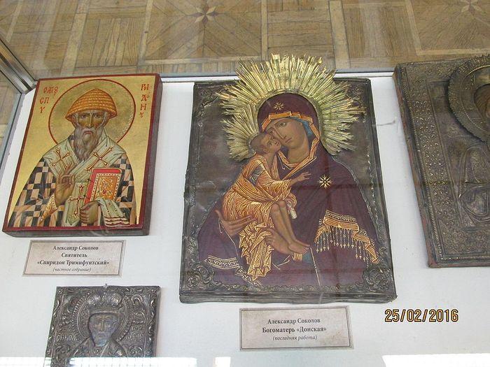Работы иконописца Александра Соколова