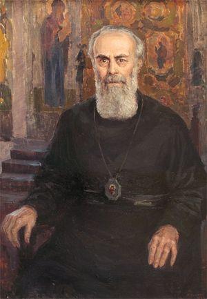 Мария Вишняк. Портрет митрополита Антония Сурожского