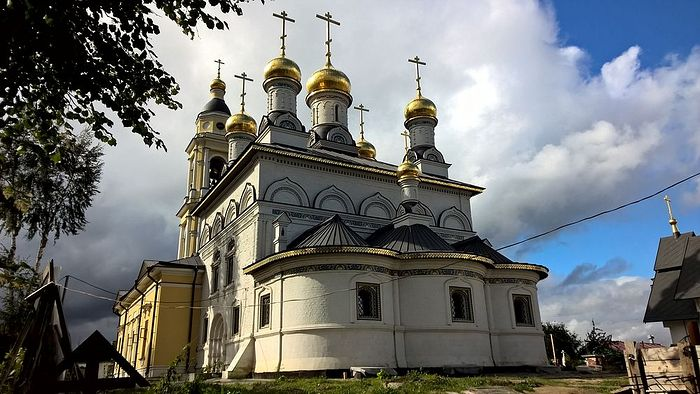 Church of the Archangel Michael in Mikhailovskaya Sloboda