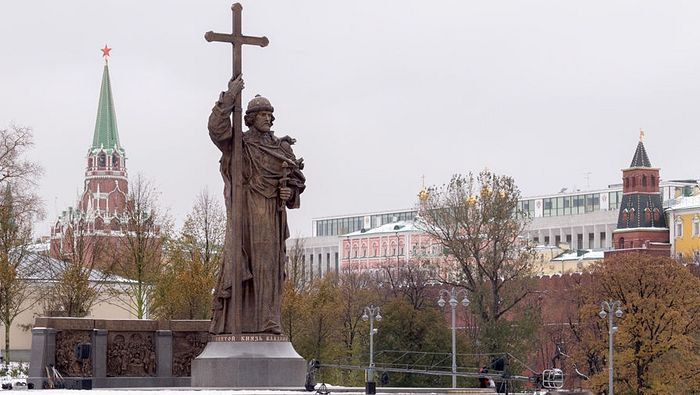 Споменик Светом кнезу Владимиру надомак Кремља
