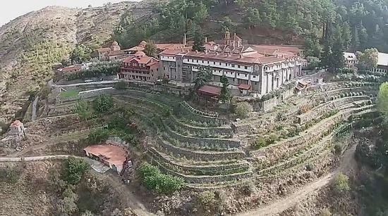 Screenshot from http://www.dronestagr.am/machairas-monastery/