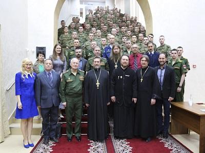 В Военном университете обобщили опыт работы с верующими военнослужащими