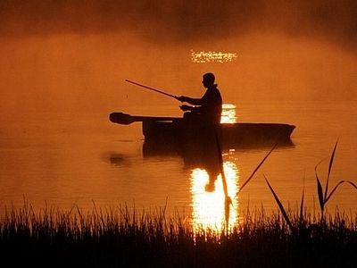 Рыбалка как место встречи с Богом