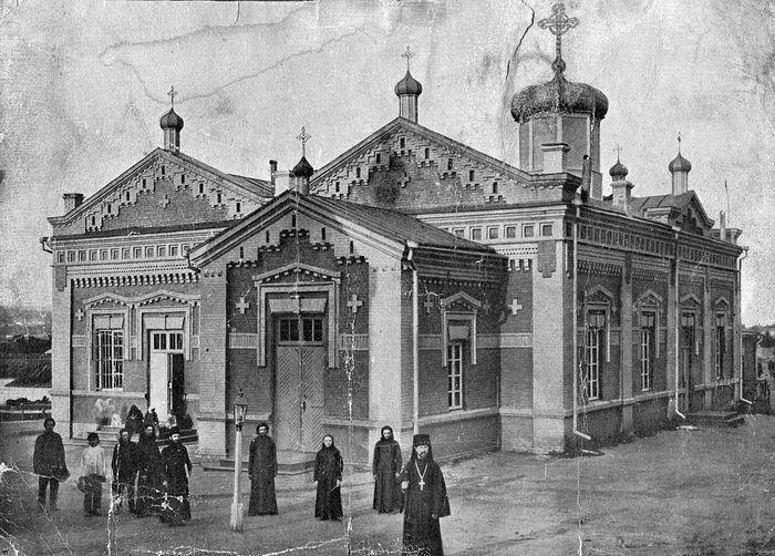 Балтско-Феодосиевский монастырь. Дореволюционное фото