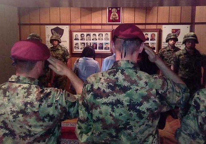 Спомен соба у Специјалној бригади у Панчеву (Фото Министарство одбране)