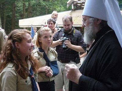 Митрополит Иларион призвал молодежь хранить в сердцах слова Священного Писания