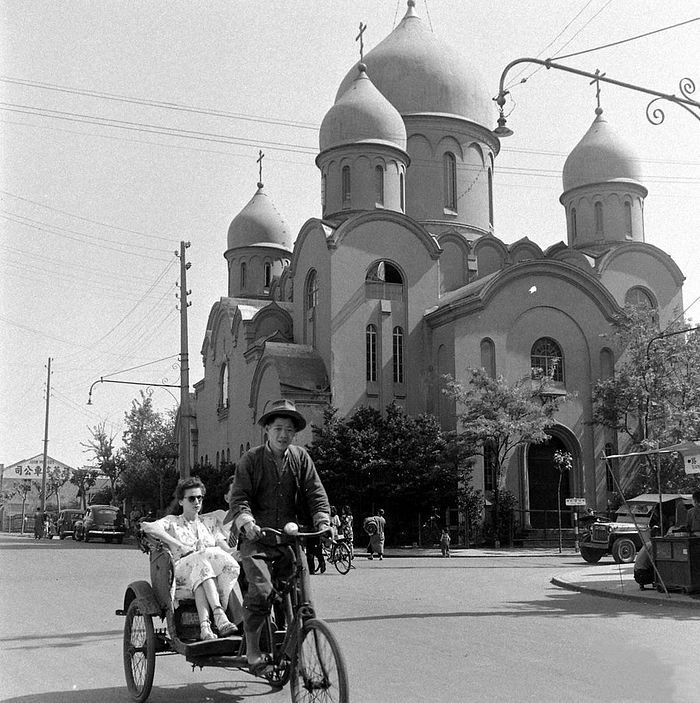 "The Russian Orthodox Church of the Mother of God ""Surety of Sinners"", Shanghai. Photo: Russky Shanghai."