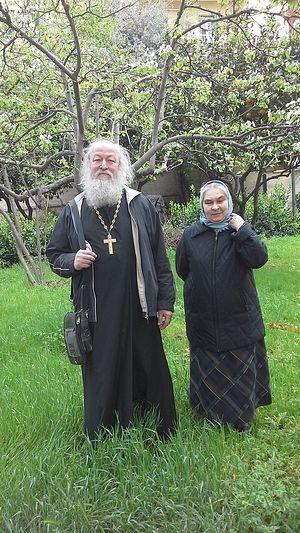 Протоиерей Вячеслав Куликов и матушка Татиана