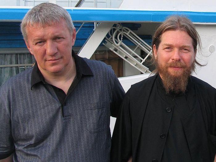 Дмитрий Делов с Владыкой Тихоном (Шевкуновым)
