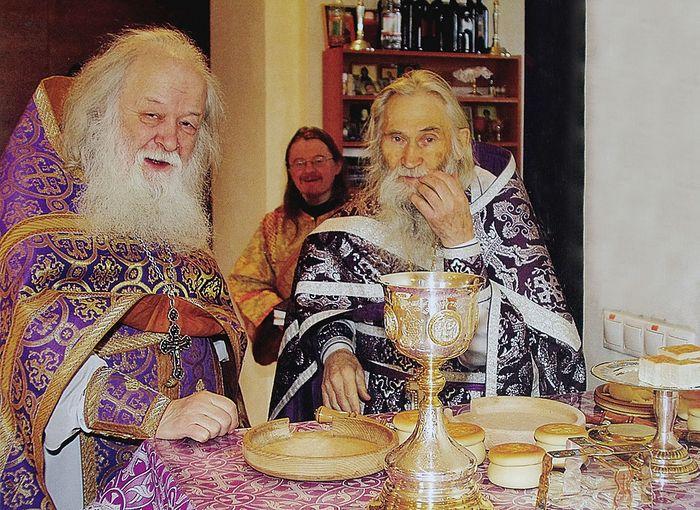 Протоиерей Валериан и схиархимандрит Илий