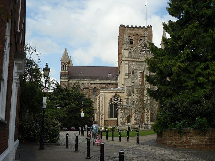 St. Albans Cathedral, Hertfordshire (photo by Irina Lapa)