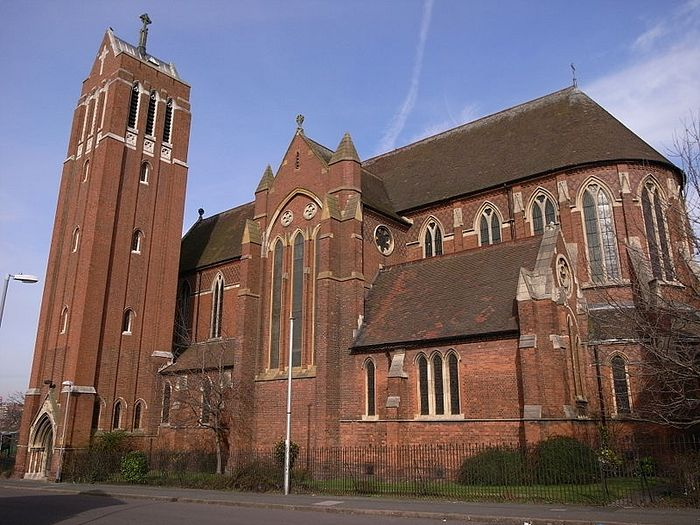 St. Alban's Church in Birmingham, West Midlands