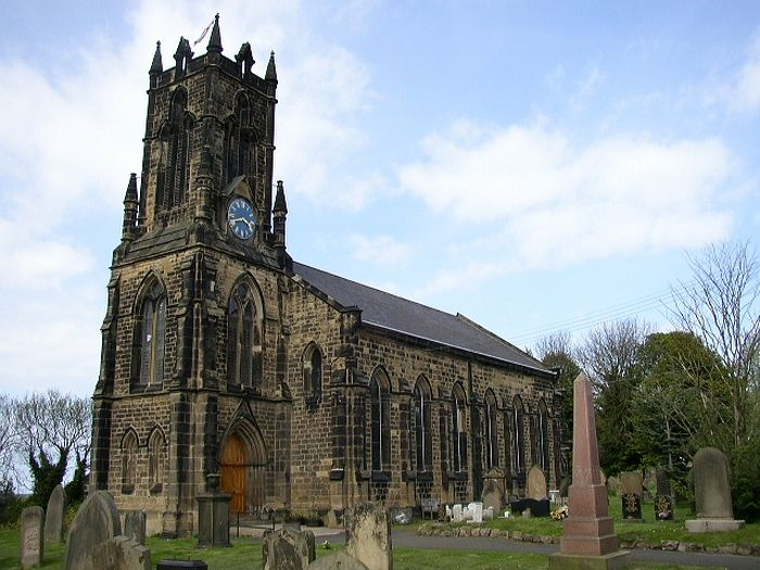 St. Alban's Church in Earsdon, Tyne and Wear