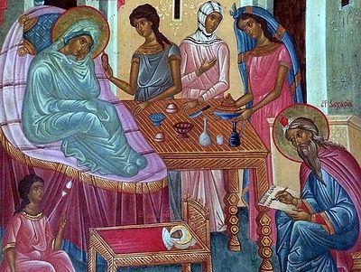 Всенощное бдение в Сретенском монастыре накануне дня празднования Рождества Иоанна Предтечи