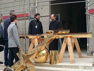 Русский храм в Страсбурге строится, несмотря на санкции