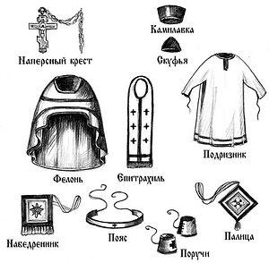 Детали облачения священника