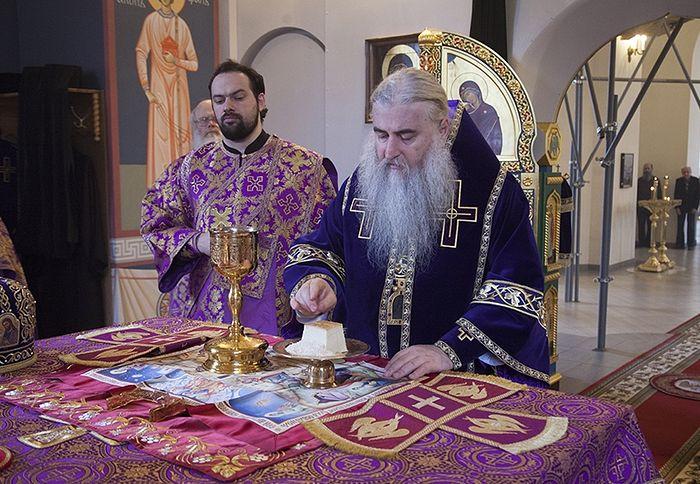 Литургия святителя Григория Двоеслова