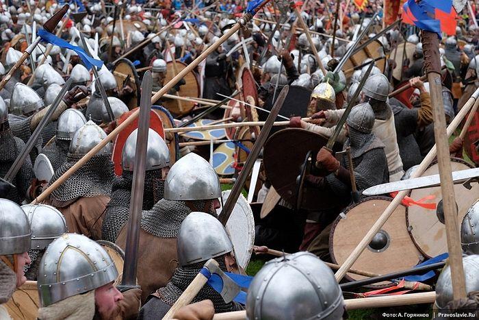 Времена и эпохи 2016: Битва тысячи мечей. Фото: А. Горяинов / Православие.Ru