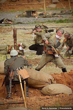 «Атака мертвецов». Фото: А. Горяинов / Православие.Ru