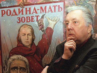 Художник, боец, защитник России