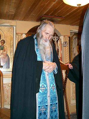 Schema-archimandrite Iliy (Nozdrin) in Spassky Monastery