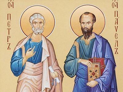 О главном чуде, совершенном святыми первоверховными апостолами Петром и Павлом