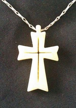 I. Ratushinskaya's cross