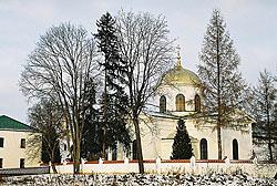 Монастырский Свято-Онуфриевский собор – современный вид.