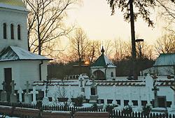 Монастырское кладбище – современный вид.