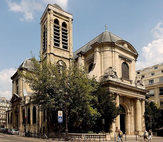 The Church of Saint-Nicolas du Chardonnet. Photo: Wikipedia.org