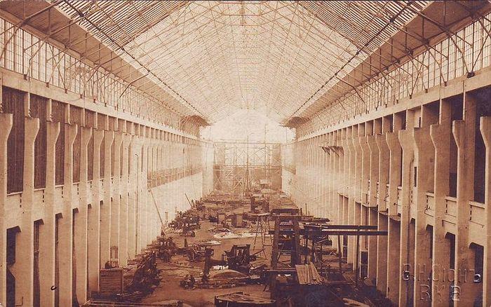 Строительство завода «Электросила» в Харькове – флагмана электромашиностроения СССР. 1915 г.