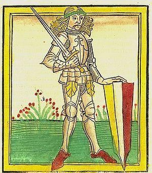Национальный герой Венгрии и выдающийся полководец Янош Хуньяди, известный в Сербии как «король Янко». Прижизненное изображение