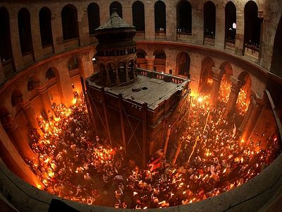 Пасха Христова и подвижный богослужебный круг