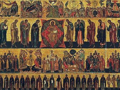 Дни памяти святых. Чины святости