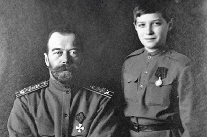 Цар Николај и царевић Алексеј