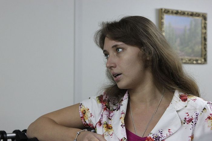 Всегда добрая и отзывчивая Мария Студеникина