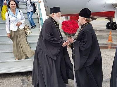 Первоиерарх Русской Православной Церкви Заграницей прибыл с паломническим визитом в Крым