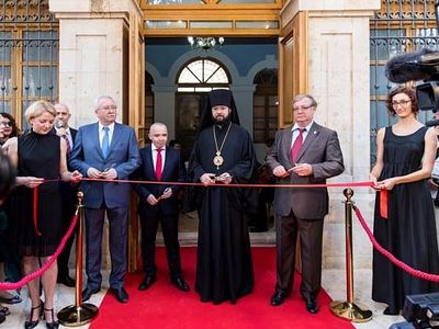 В Иерусалиме состоялось торжественное открытие Сергиевского подворья