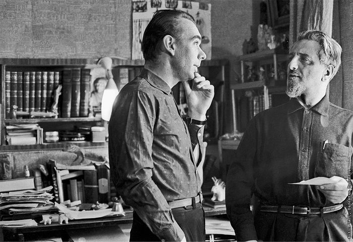 Алексей Баталов и Виктор Ардов, 1964 г. Фото ИТАР-ТАСС