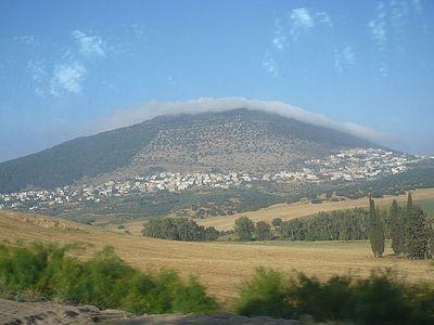 Облако на горе Фавор
