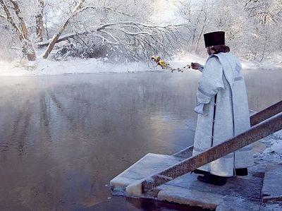 Чудо крещенской воды