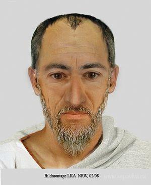 Фоторобот апостола Павла, составленный в 2008 году экспертами Управления уголовной полиции земли Северный Рейн-Вестфалия. Помощь экспертам оказывал Михаэль Хесеманн