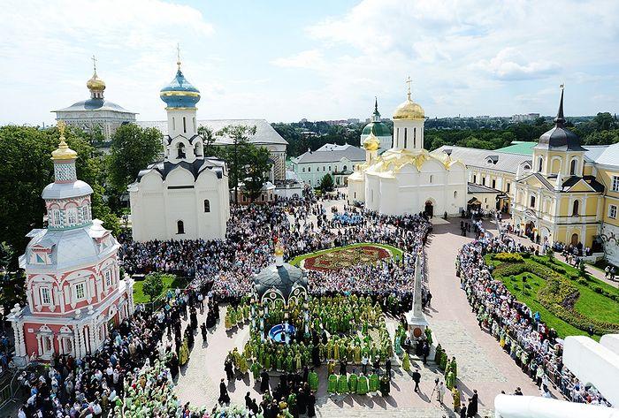 Троице-Сергиева Лавра. Фото: patriarchia.ru