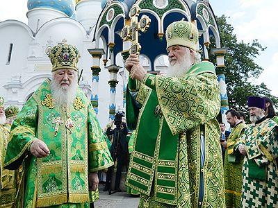 Слово патриарха. Неделя 7-я по Пятидесятнице